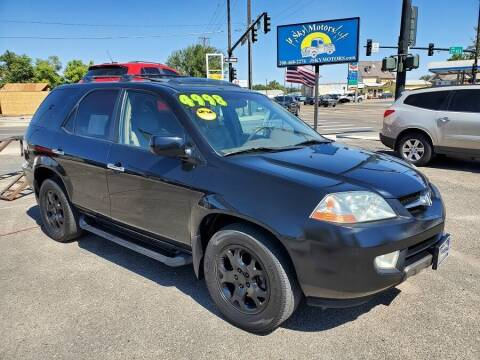 2002 Acura MDX for sale at J Sky Motors in Nampa ID