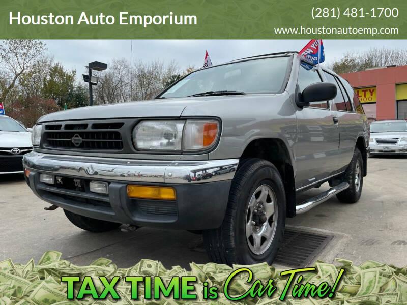1998 Nissan Pathfinder for sale at Houston Auto Emporium in Houston TX
