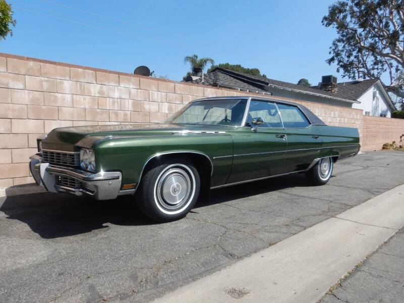 1972 Buick Electra for sale at California Cadillac & Collectibles in Los Angeles CA
