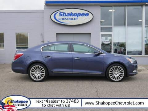 2014 Buick LaCrosse for sale at SHAKOPEE CHEVROLET in Shakopee MN