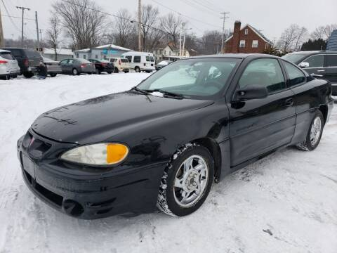 2002 Pontiac Grand Am for sale at COLONIAL AUTO SALES in North Lima OH
