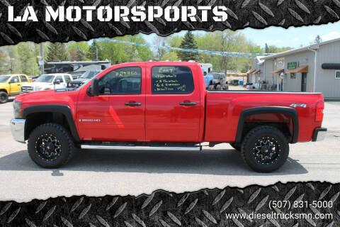 2009 Chevrolet Silverado 2500HD for sale at LA MOTORSPORTS in Windom MN