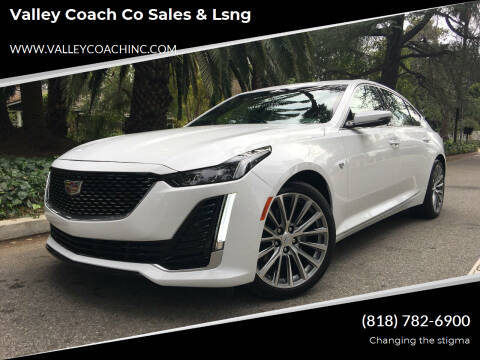 2020 Cadillac CT5 for sale at Valley Coach Co Sales & Lsng in Van Nuys CA