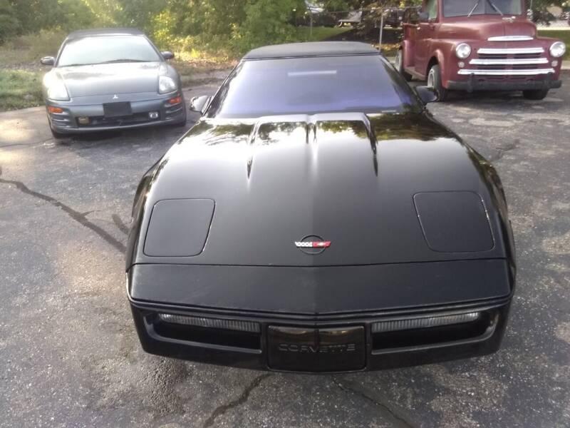 1989 Chevrolet Corvette for sale at Heartbeat Used Cars & Trucks in Harrison Twp MI