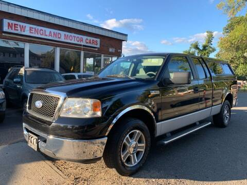 2007 Ford F-150 for sale at New England Motor Cars in Springfield MA