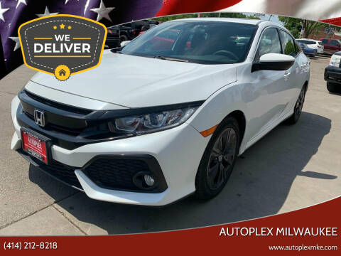 2017 Honda Civic for sale at Autoplex 2 in Milwaukee WI