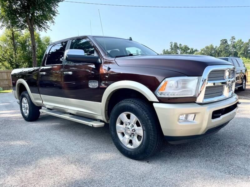 2015 RAM Ram Pickup 2500 for sale at Sandlot Autos in Tyler TX