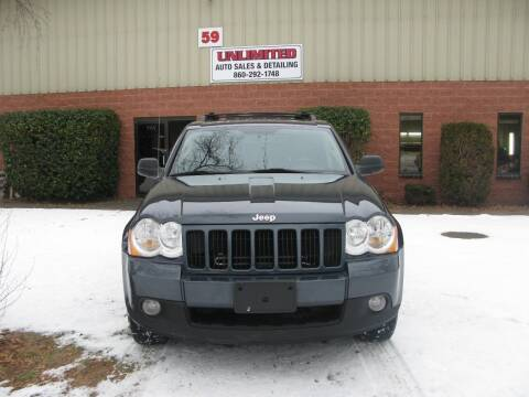 2008 Jeep Grand Cherokee for sale at Unlimited Auto Sales & Detailing, LLC in Windsor Locks CT