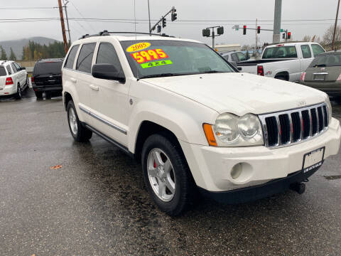 2005 Jeep Grand Cherokee for sale at Low Auto Sales in Sedro Woolley WA