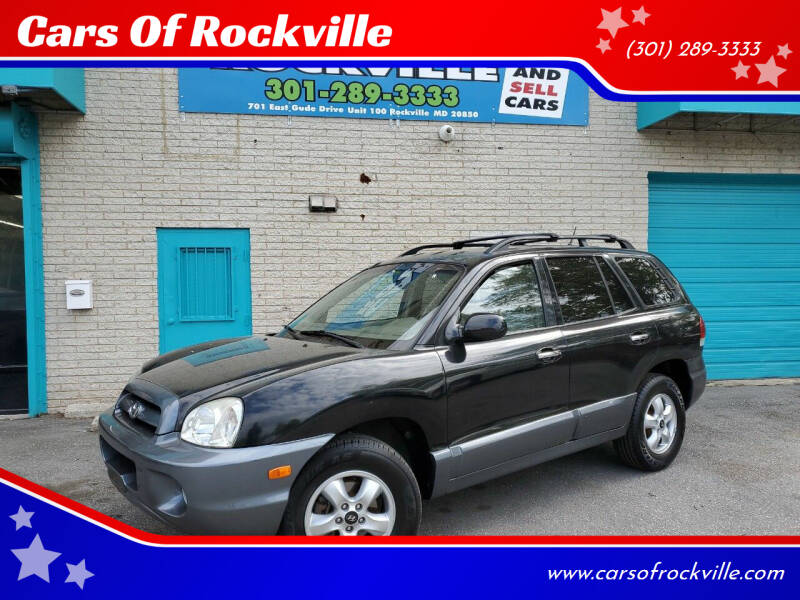 2005 Hyundai Santa Fe for sale at Cars Of Rockville in Rockville MD