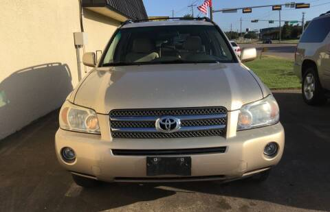 2006 Toyota Highlander Hybrid for sale at Affordable Auto Sales in Dallas TX