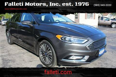 2017 Ford Fusion for sale at Falleti Motors, Inc.  est. 1976 in Batavia NY