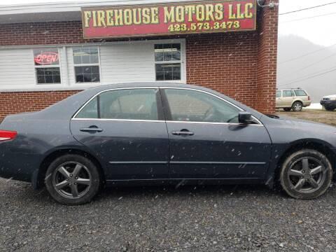 2004 Honda Accord for sale at Firehouse Motors LLC in Bristol TN