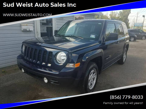 2014 Jeep Patriot for sale at Sud Weist Auto Sales Inc in Maple Shade NJ