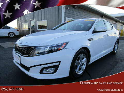 2015 Kia Optima for sale at Lifetime Auto Sales and Service in West Bend WI