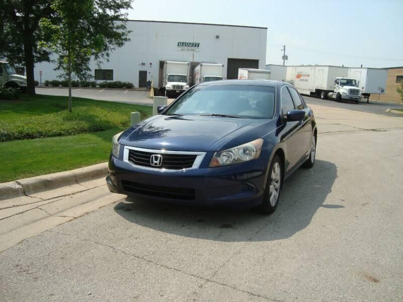2009 Honda Accord for sale at ARIANA MOTORS INC in Addison IL