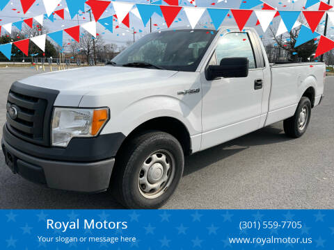 2012 Ford F-150 for sale at Royal Motors in Hyattsville MD