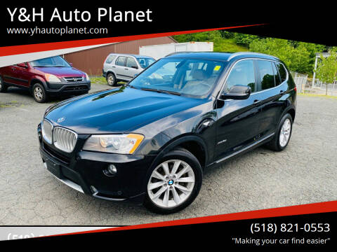 2012 BMW X3 for sale at Y&H Auto Planet in West Sand Lake NY