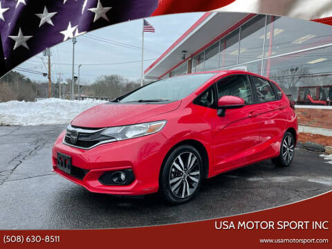 2018 Honda Fit for sale at USA Motor Sport inc in Marlborough MA