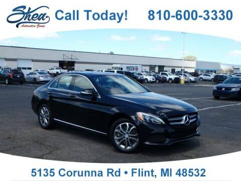 2015 Mercedes-Benz C-Class for sale at Jamie Sells Cars 810 - Linden Location in Flint MI