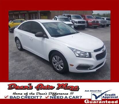 2015 Chevrolet Cruze for sale at Dean's Auto Plaza in Hanover PA