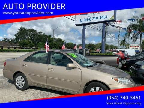 2005 Toyota Camry for sale at AUTO PROVIDER in Fort Lauderdale FL