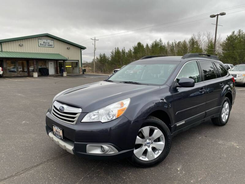 2012 Subaru Outback for sale at Lakes Area Auto Solutions in Baxter MN