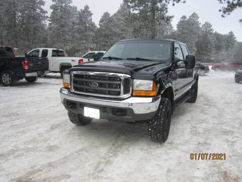 2000 Ford F-250 Super Duty for sale at SUNNYBROOK USED CARS in Menahga MN