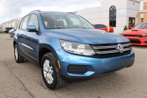 2017 Volkswagen Tiguan for sale at SHAFER AUTO GROUP in Columbus OH