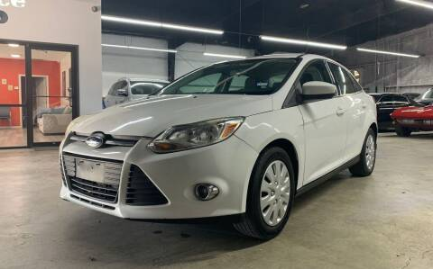 2012 Ford Focus for sale at PARK PLACE AUTO SALES in Houston TX