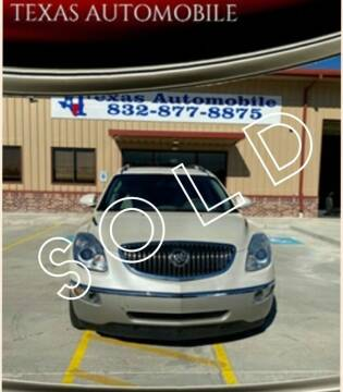 2011 Buick Enclave for sale at TEXAS AUTOMOBILE in Houston TX