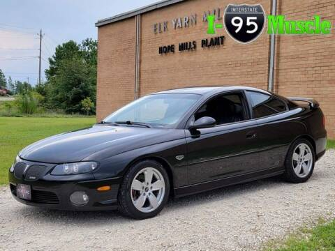 2004 Pontiac GTO for sale at I-95 Muscle in Hope Mills NC