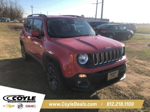 2017 Jeep Renegade for sale at COYLE GM - COYLE NISSAN in Clarksville IN