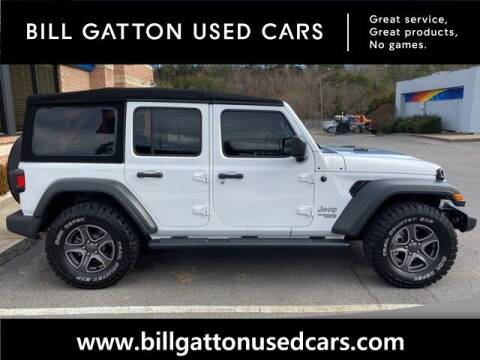 2018 Jeep Wrangler Unlimited for sale at Bill Gatton Used Cars - BILL GATTON ACURA MAZDA in Johnson City TN