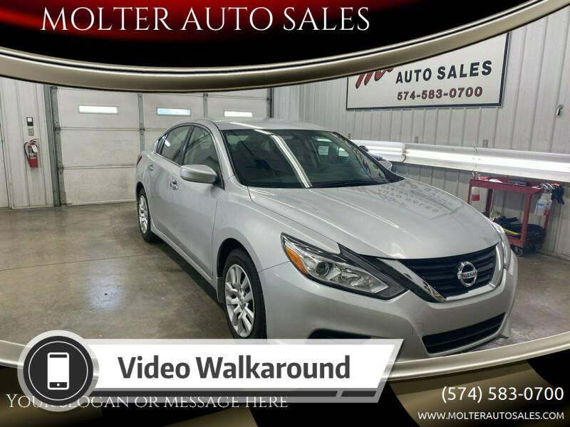 2018 Nissan Altima for sale at MOLTER AUTO SALES in Monticello IN
