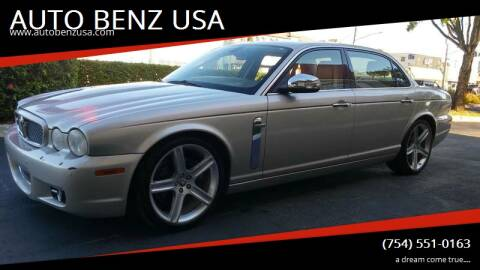 2009 Jaguar XJ for sale at AUTO BENZ USA in Fort Lauderdale FL