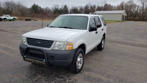 2003 Ford Explorer for sale at Caruzin Motors in Flint MI