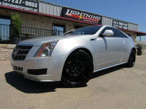 2012 Cadillac CTS for sale at Lightning Motorsports in Grand Prairie TX