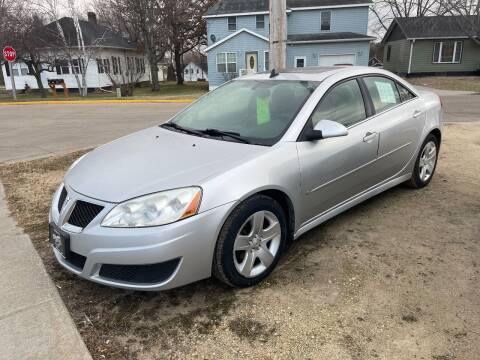 2010 Pontiac G6 for sale at Nelson's Straightline Auto - 23923 Burrows Rd in Independence WI