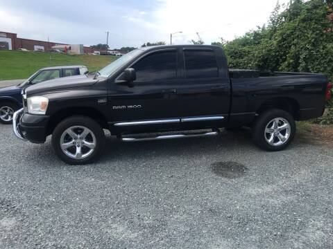 2007 Dodge Ram Pickup 1500 for sale at Clayton Auto Sales in Winston-Salem NC