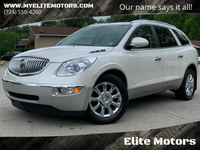 2011 Buick Enclave for sale at Elite Motors in Uniontown PA