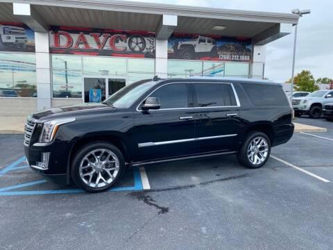 2017 Cadillac Escalade ESV for sale at Davco Auto in Fort Wayne IN