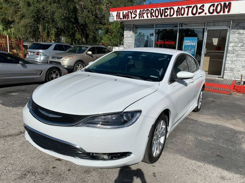 2017 Chrysler 200 for sale at Always Approved Autos in Tampa FL