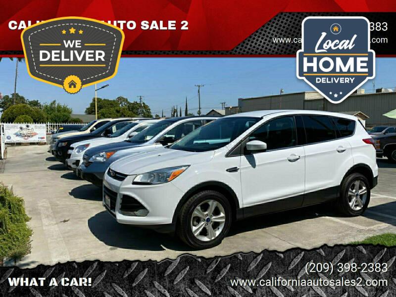 2014 Ford Escape for sale at CALIFORNIA AUTO SALE 2 in Livingston CA