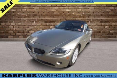 2005 BMW Z4 for sale at Karplus Warehouse in Pacoima CA