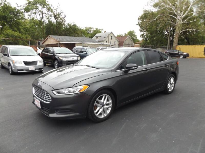 2016 Ford Fusion for sale at Goodman Auto Sales in Lima OH