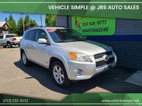 2010 Toyota RAV4 for sale at Vehicle Simple @ JRS Auto Sales in Parkland WA