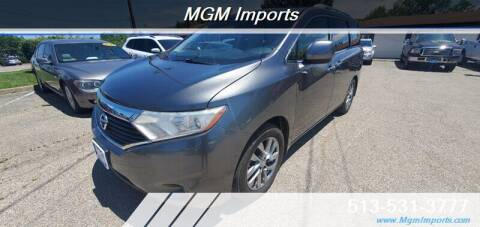 2014 Nissan Quest for sale at MGM Imports in Cincannati OH