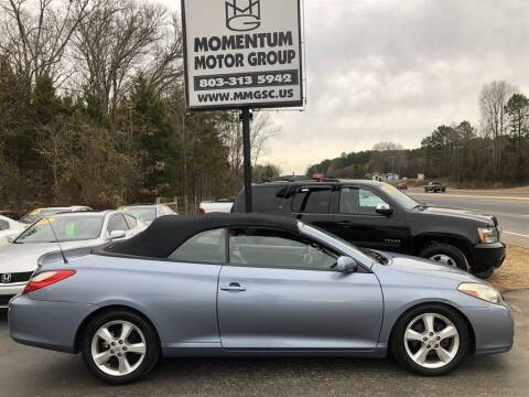 2008 Toyota Camry Solara for sale at Momentum Motor Group in Lancaster SC