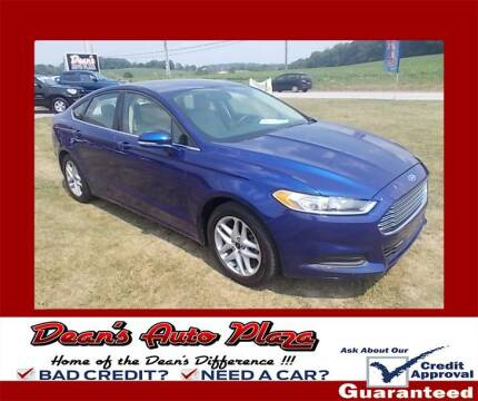2014 Ford Fusion for sale at Dean's Auto Plaza in Hanover PA